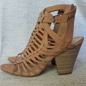 Just Fab Bootie Sandal 8.5